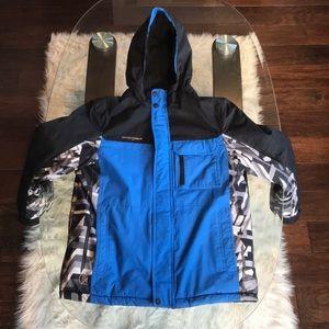 ZeroXPosur Blue/Grey Kids Winter Jacket